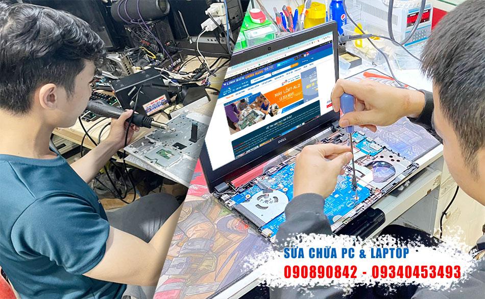 Dịch vụ sửa laptop tại nhà quận 2 uy tín