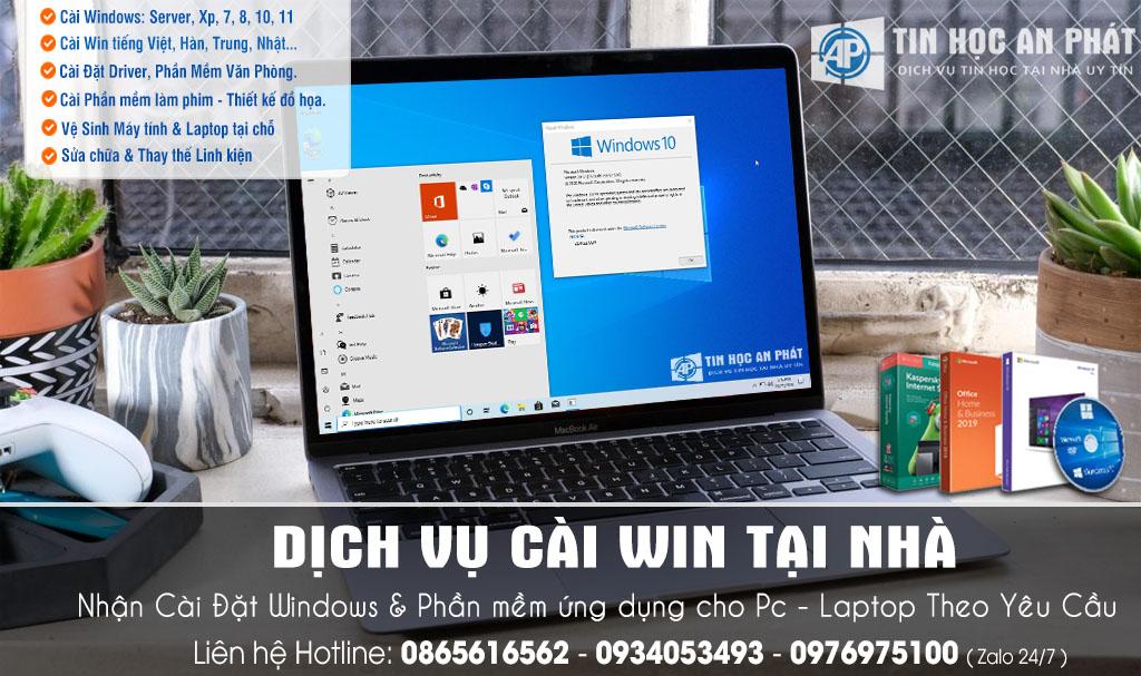 Dịch vụ Sửa máy tính Quận Bình Tân tận nơi - Sửa tại nhà giá rẻ