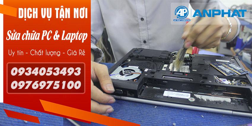 Dịch vụ sửa máy tính tận nơi huyện Nhà Bè giá rẻ